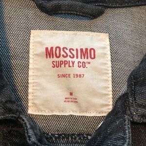 Mossimo Supply Co. Jackets & Coats - Mossimo Black Denim Jacket